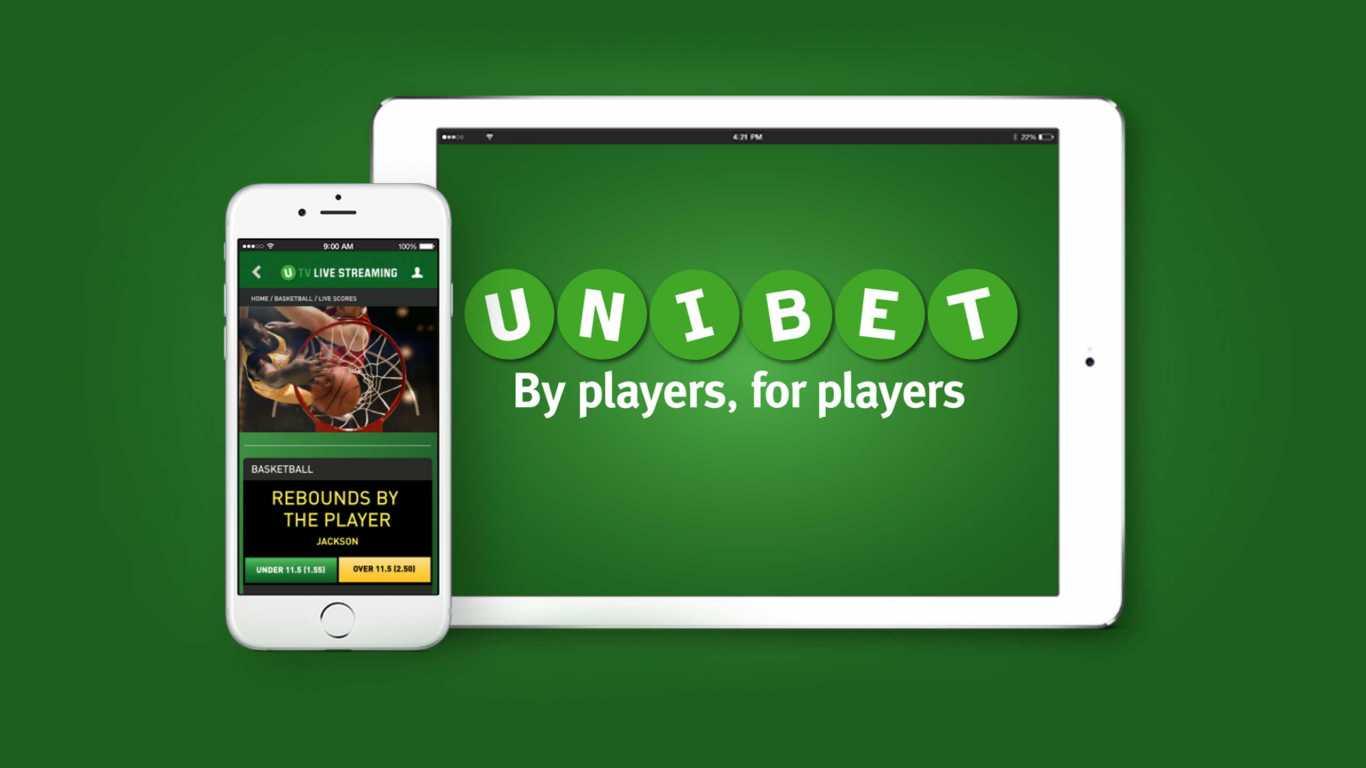 Le bookmaker Unibet mobile